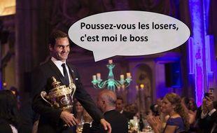 The boss Federer