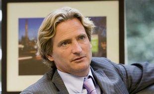 L'homme d'affaires Charles Beigbeder, alors PDG de Poweo, dans son bureau à Paris, le 6 novembre 2008.