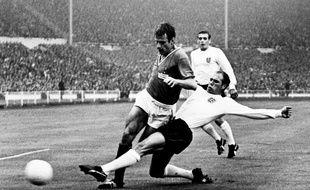 Philippe Gondet, lors de la Coupe du monde 1966 avec l'équipe de France.