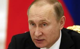 Le président russe Vladimir Poutine, le 21 janvier 2016 au Kremlin, à Moscou
