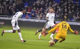 Bertrand Traoré a marqué dès la 13e minute de jeu vendredi, mais son but n'a pas été validé, après utilisation du VAR.