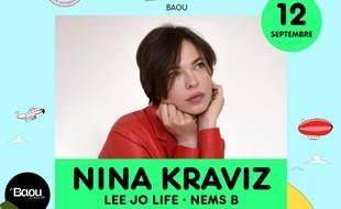 Nina Kraviz sera dimanche au Baou pour la première édition du Brunch électronique à Marseille.