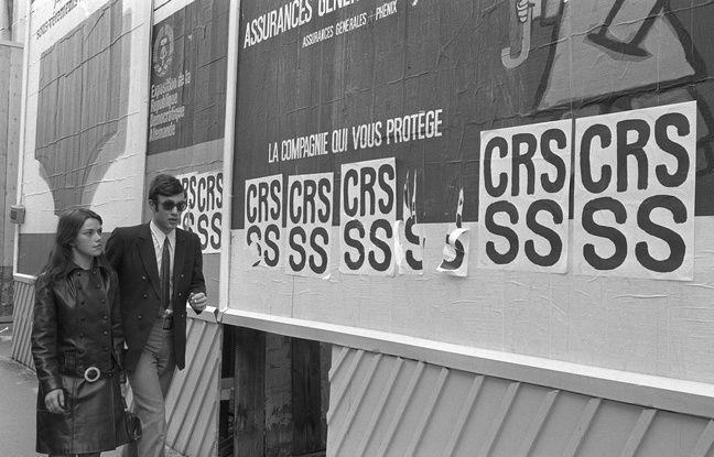 Cinquante après Mai 68, certains slogans continuent de heurter les policiers.