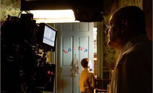 Jean-Pierre Jeunet sur le tournage de T.S. Spivet.
