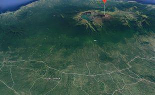 Le mont Rinjani, sur l'île de Lombok.