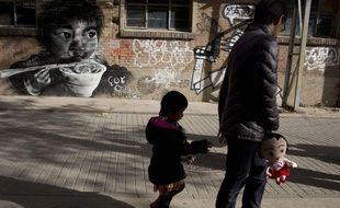 Illustration: un enfant unique en Chine.