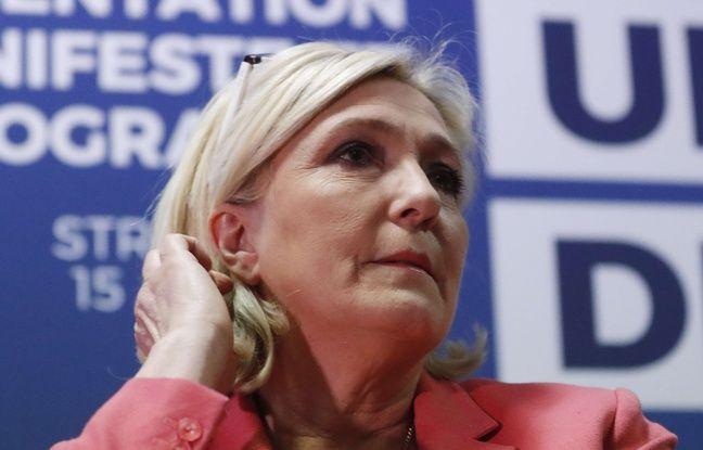 Assistants d'eurodéputés FN: Marine Le Pen au tribunal de Paris pour être entendue par les juges