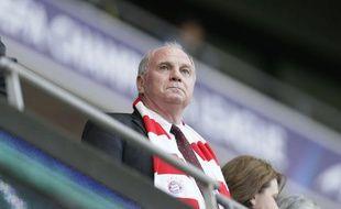 Le président du Bayern Munich Uli Hoeness, lors de la finale de la Ligue des champions, le 25 mai 2013.