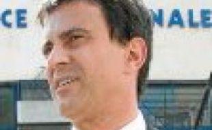 Manuel Valls à Marseille, en mai 2011.
