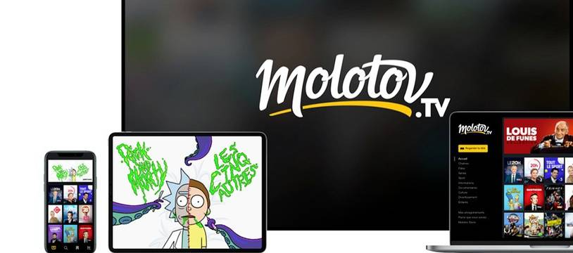 Molotov TV se lance à l'international