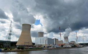 La centrale nucléaire belge de Tihange, le 20 août 2014.