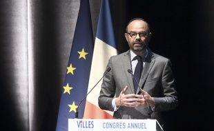 Edouard Philippe au Congrès annuel des villes de France à Albi dans le Tarn, le 14 juin 2019.