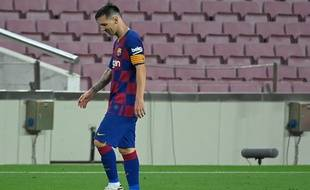 Lionel Messi lors de Barça-Atlético Madrid, le 30 juin 2020.