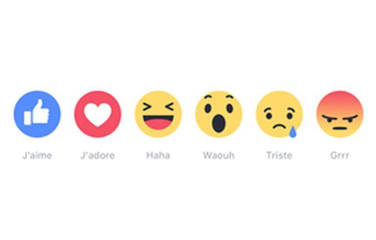 Facebook Waouh Triste Grrr Les Six Nouveaux Boutons Sont Arrives