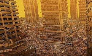 Extrait de « Carbone & Silicium », une BD d'anticipation de Mathieu Bablet