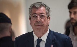 Paris, le 13 mai 2019. Patrick Balkany lors de son procès pour