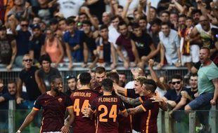 L'AS Rome a battu la Juventus le 30 août 2015.