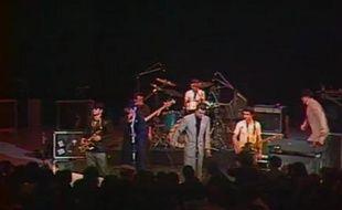 Le groupe Madness en janvier 1980 sur la scène de l'Empire, dans l'émission Chorus. (Capture d'écran)