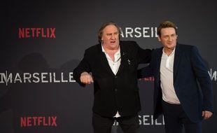 Gérard Depardieu et Benoît Magimel.