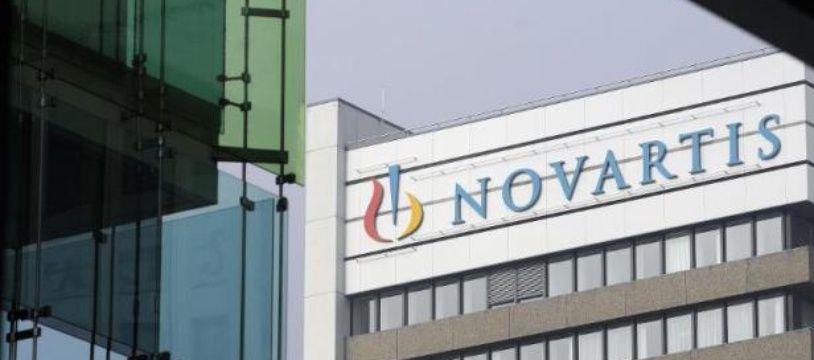 Le siège du groupe pharmaceutique suisse Novartis, le 28 janvier 2009 à Bâle, en Suisse