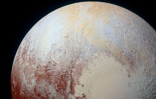 Pluton photographiée par New Horizons le 14 juillet 2015.