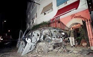 La série d'attentats qui a ensanglanté Casablanca, au Maroc, a fait 33 morts le 16 mai 2003.