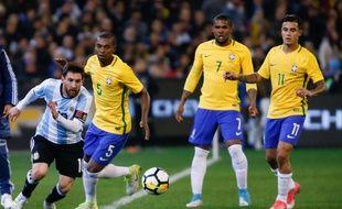 Messi, contre le Brésil