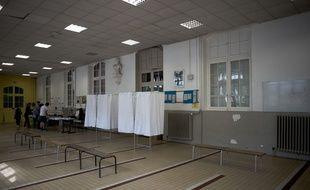 Elections Européennes, bureau de vote N40, Paris 11, Ecole Rur Saint Maur. 26 mai 2019 à Paris, France. Credit:NICOLAS MESSYASZ/SIPA