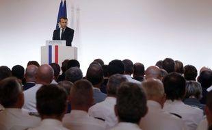 Emmanuel Macron a exhorté les forces de l'ordre à être «fortes et justes», «jamais faibles», pour combattre l'insécurité et la menace terroriste