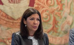 Anne Hidalgo au Conseil de Paris le 26 septembre 2016.