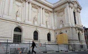 La façade restaurée du bâtiment historique de l'ex-musée des Beaux-arts.