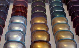 Dosettes de thé Nestlé lors de la présentation du produit le 20 mai 2010 à Paris.