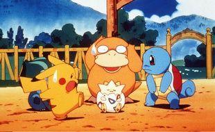 Extrait du dessin animé Pokémon