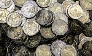 Illustration de pièces de monnaie.
