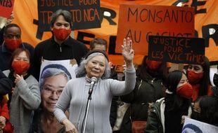 La Franco-Vietnamienne Tran To Nga a réaffirmé qu'elle poursuivrait son combat judiciaire contre 14 multinationales de l'agrochimie qu'elle accuse d'avoir vendu de l'agent orange pendant la guerre du Vietnam.