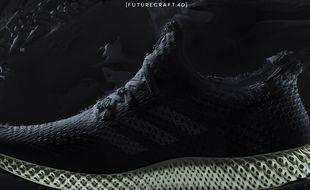 Capture d'écran du site Adidas, le 7 avril 2017.