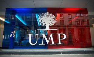 L'entrée du siège de l'UMP, rue de Vaugirard à Paris.