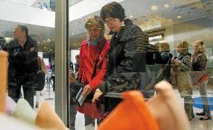 Le centre commercial a connu une fréquentation exceptionnelle qui a surpris les commerçants.