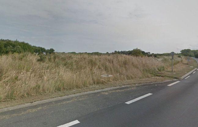 La vue qu'avait Marie-Thérèse avant l'installation de la «jungle» de Calais.