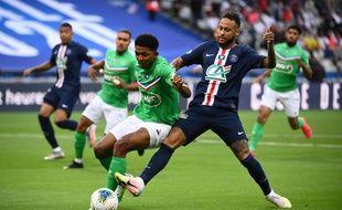 Impressionnant lors de la finale de la Coupe de France contre le PSG de Neymar (0-1), le 24 juillet.
