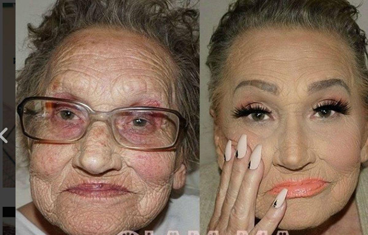 Connu Maquillage: Elle transforme sa grand-mère de 80 ans grâce au  FL12