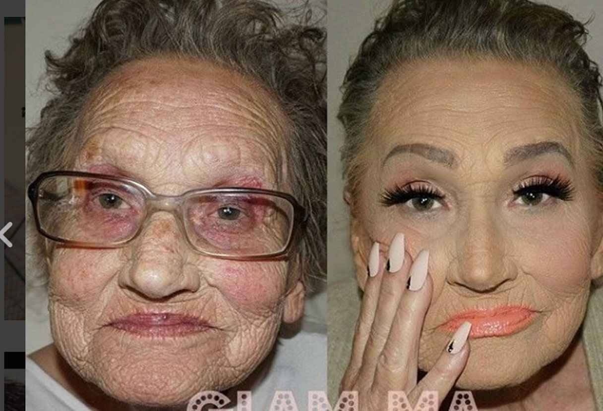 comment se maquiller quand on a 80 ans