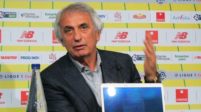 Après le départ de Sala, Halilhodzic exprime son «mécontentement»
