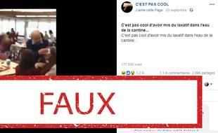 La vidéo de lycéens victimes d'une limonade contenant du laxatif est tirée d'une série Netflix.