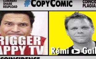 Capture d'écran de la vidéo CopyComic