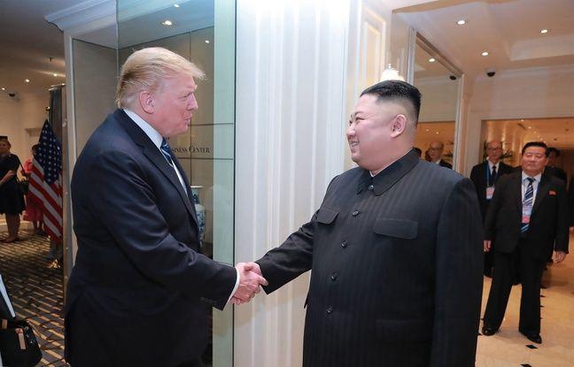 Donald Trump, ravi d'un courrier de Kim Jong-un lui souhaitant bon anniversaire