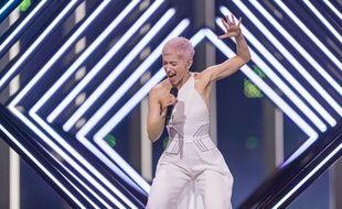 SuRie, candidate du Royaume-Uni à l'Eurovision.