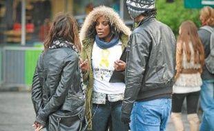 Neuf volontaires parcourent le région pour informer sur le don d'organes pendant six mois.