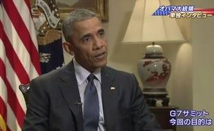 Barack Obama sur la NHK.