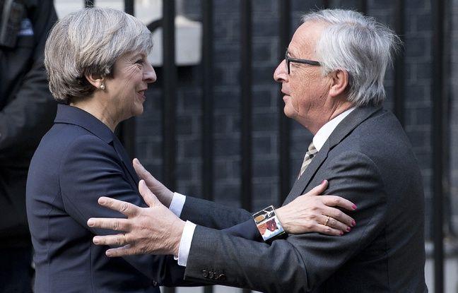 Brexit: Jean-Claude Juncker et Theresa May conviennent d'«accélérer les efforts» pour trouver un accord